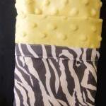 Minky Blanket Zebra Stripe