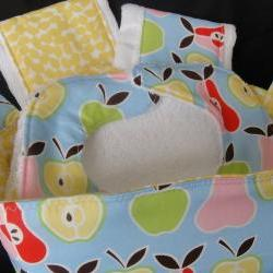 Baby Gift Basket Apples Pears Gift Set